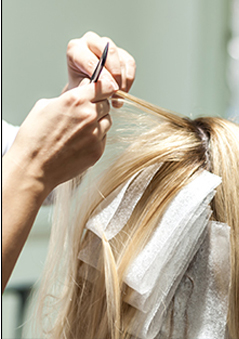 Walton Salon Highlighting Hair